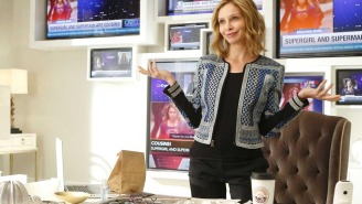 Calista Flockhart WILL return to The CW's 'Supergirl' but with a catch