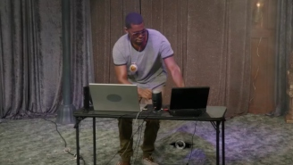 Flying Lotus Checks His Emails In The Most Fire Way Possible On 'The Eric Andre Show'