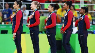 Gabby Douglas Explains Why She Looked So 'Unpatriotic' During The National Anthem