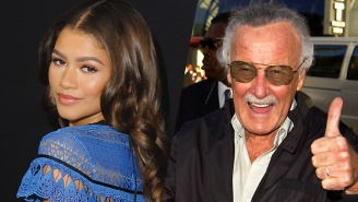 Mary Jane Watson Co-Creator Stan Lee Gives His Thumbs Up To Zendaya In 'Spider-Man: Homecoming'