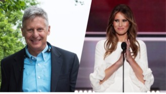 Gary Johnson Hilariously Trolls Donald Trump By Offering Melania 'A Path To Citizenship'