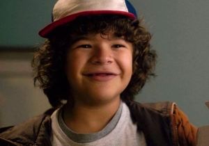 Gaten Matarazzo's vocal chops are the real monster on the 'Stranger Things' set