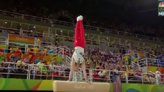 A German Gymnast Nailed His Pommel Horse Routine Despite Tearing His ACL Earlier In The Day