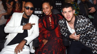 Swizz Beatz Defends Alicia Keys' Decision To Forego Makeup At The VMAs