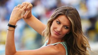 Gisele Will Reportedly Play The Victim In A Simulated Assault During The Olympic Opening Ceremony