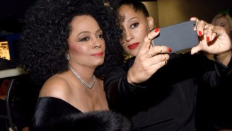 Diana Ross Took Out A Full Page Ad To Congratulate Her Daughter Tracee Ellis Ross On Her Emmy Nom