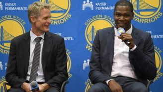 Steve Kerr Has Some Words For Anyone Wanting To Cast Kevin Durant As A Villain