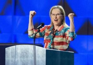 Meryl Streep Jokes That Her DNC Scream Sounded Like Someone Was Being Murdered