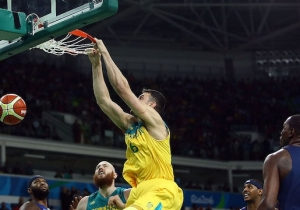 Andrew Bogut Insists Australia Isn't 'Aiming For Second' At The Olympics