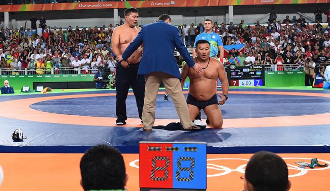 olympic wrestling mongolia