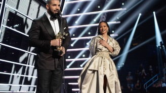 Drake's Late-Night Selfie With Rihanna Has Fans Calling For A Proposal
