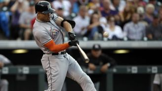 Giancarlo Stanton's Latest Absurd Act Of Power Was This Monstrous 504-Foot Home Run