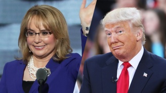 Gabby Giffords Worries That Donald Trump's '2nd Amendment' Remarks Could Inspire Violence