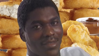 Hakeem Olajuwon Once Ate Over 100 Chicken McNuggets As Part Of A Commercial Shoot