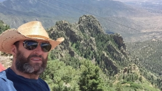 Are Hugh Jackman's Vacation Photos Actually Teasing His Look As Old Man Logan?