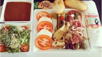 This Instagrammer Is Taking Photos Of Every In-Flight Meal He Eats