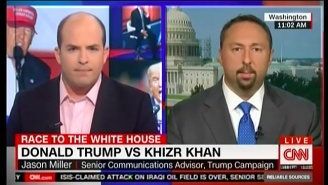 Watch Donald Trump's Spokesperson Attempt To Sidestep Questions About The Khan Family