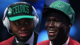 Even Fellow Rookie Jaylen Brown Is Curious About Thon Maker's Actual Age