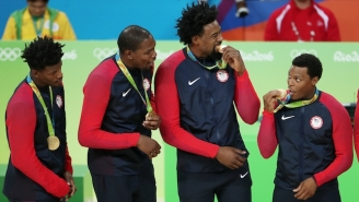 Team USA And The Basketball World Celebrate America's Third-Straight Olympic Gold Medal