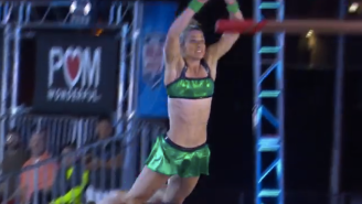 'Supergirl' stuntwoman flies into 'American Ninja Warrior' record books