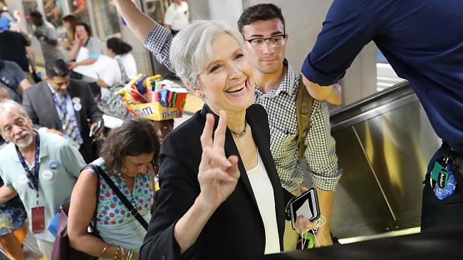 LISTEN] Green Party Candidate Jill Stein '90s Folk Rock Band