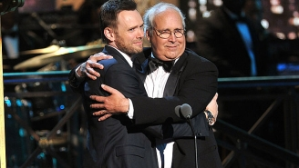 Joel McHale Called Chevy Chase For His Blessing To Play Him In 'A Futile And Stupid Gesture'