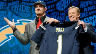 Things Are Getting Very Heated Between Joey Bosa, His Agent And The Chargers