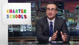 John Oliver Points Out Why Charter Schools Aren't All They're Cracked Up To Be