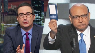 John Oliver Is Aghast Over Donald Trump's 'Sociopathic' Response To The Khan Family