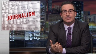 John Oliver Implores Viewers To Support Newspaper Journalism By Paying For It
