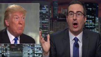 John Oliver Outlines An Airtight Plan To Turn Donald Trump Into A Legend