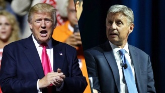 Gary Johnson Dismantles Trump's 'Wall' And Tears Down His Wavering Immigration Stance