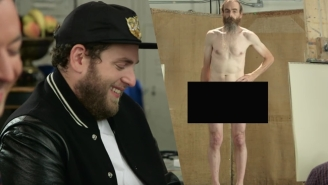 Jonah Hill Faces The Perils Of Nude Modeling While Visiting An Art Class On 'The Tonight Show'