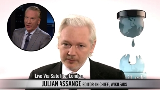 Bill Maher Confronts Julian Assange Over The DNC Email Hack
