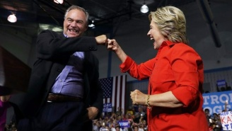 Tim Kaine Talks Up Clinton's Debate Expectations And Predicts She'll Bring Her 'A-Plus Game'
