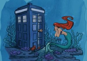 Karen Hallion's fan art mashes up your nerdy favorites