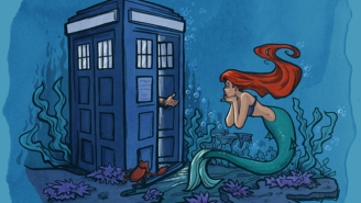 Karen Hallion's fan art mashes up your nerdy favorites