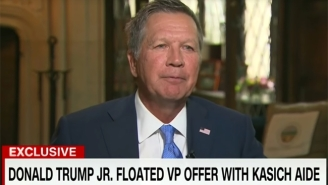 John Kasich Confirms The Trump Campaign Reached Out With Offer To Be 'Most Powerful VP In History'