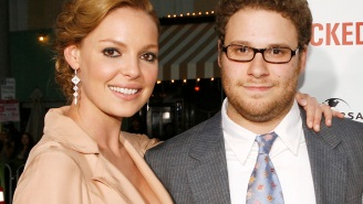 Katherine Heigl and Seth Rogen are totally okay now, seriously