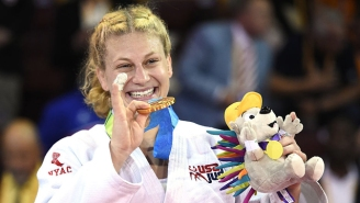 Olympic Judo Gold Medalist Kayla Harrison Has Been Getting Advice From Ronda Rousey On Her Move To MMA