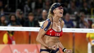 Kerri Walsh Jennings Shot Down A Troll Who Tweeted About Beach Volleyball Players' 'Side Boob'