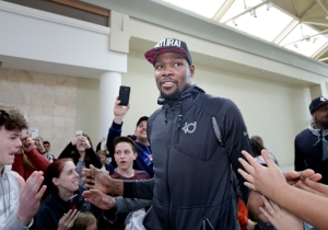 Kevin Durant Purportedly Grumbled About Being Unable To Go Out In Oklahoma City
