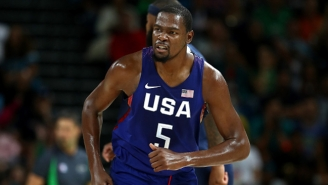 Kevin Durant Isn't Going To Let The USA Fall Short Of Their Goal For Gold