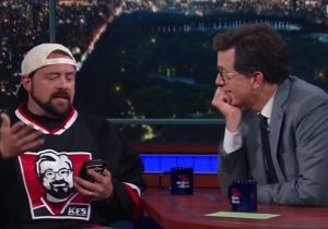 Kevin Smith Shares A Texting Horror Story Involving Himself And His Daughter