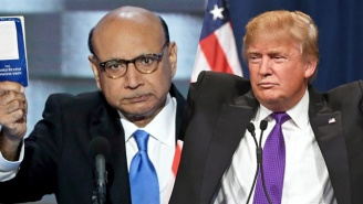 In A Powerful New Ad, Khizr Khan Asks Donald Trump, 'Would My Son Have A Place In Your America?'