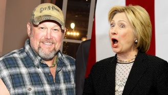 Larry The Cable Guy Gives The Opposite Of A Clinton Endorsement With A Poop Analogy, Of Course