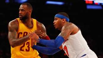 Kendrick Perkins Claims LeBron James Tried Getting Carmelo Anthony On The Cavs But The Team Said No