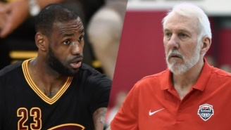 LeBron James Calls Gregg Popovich The Greatest Coach Of All Time And Hints At Next Olympics
