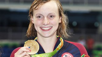 Katie Ledecky Crushes Her Previous World Record To Bring Home A Gold Medal At The Rio Olympics