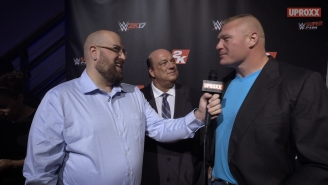Brock Lesnar And Paul Heyman Answer Our Hard-Hitting Questions About Jimmy John's